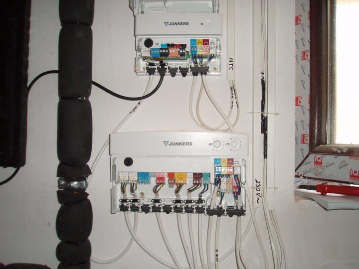 Elektromos bekötés